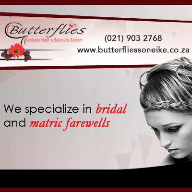 Butterflies – Unisex Hair & Beauty Salon
