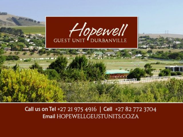 Hopewell Guest Unit